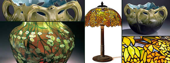 Tiffany collection at the Morse Museum