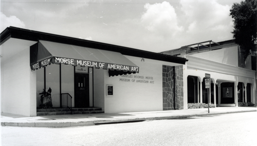 1987 - Name changed to Charles Hosmer Morse Museum of American Art