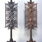 Pair of baluster panels