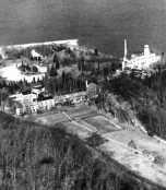 Aerial view of Laurelton Hall