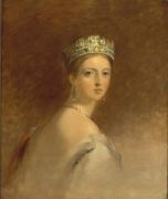Study of the Queen Victoria