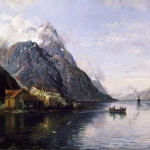 Landscape with Fjord
